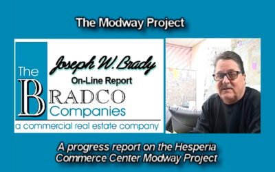 Joseph W. Brady Takes Us to the Modway Project a State-of-the-Art Warehouse and Distribution Center